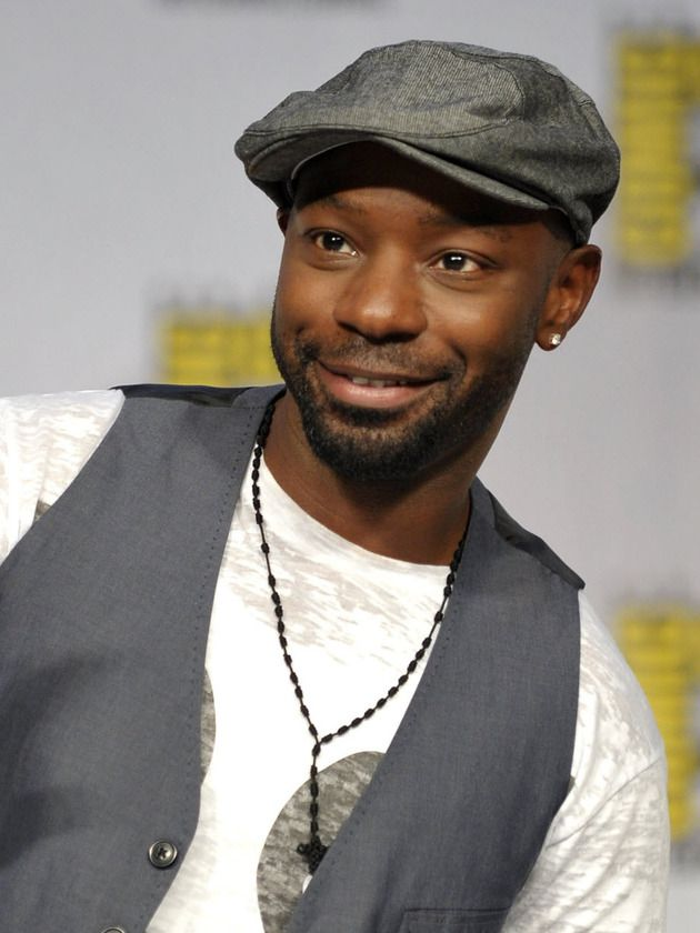 Nelsan Ellis    Why? Because he's Lafayette, bitches    'Nuf said