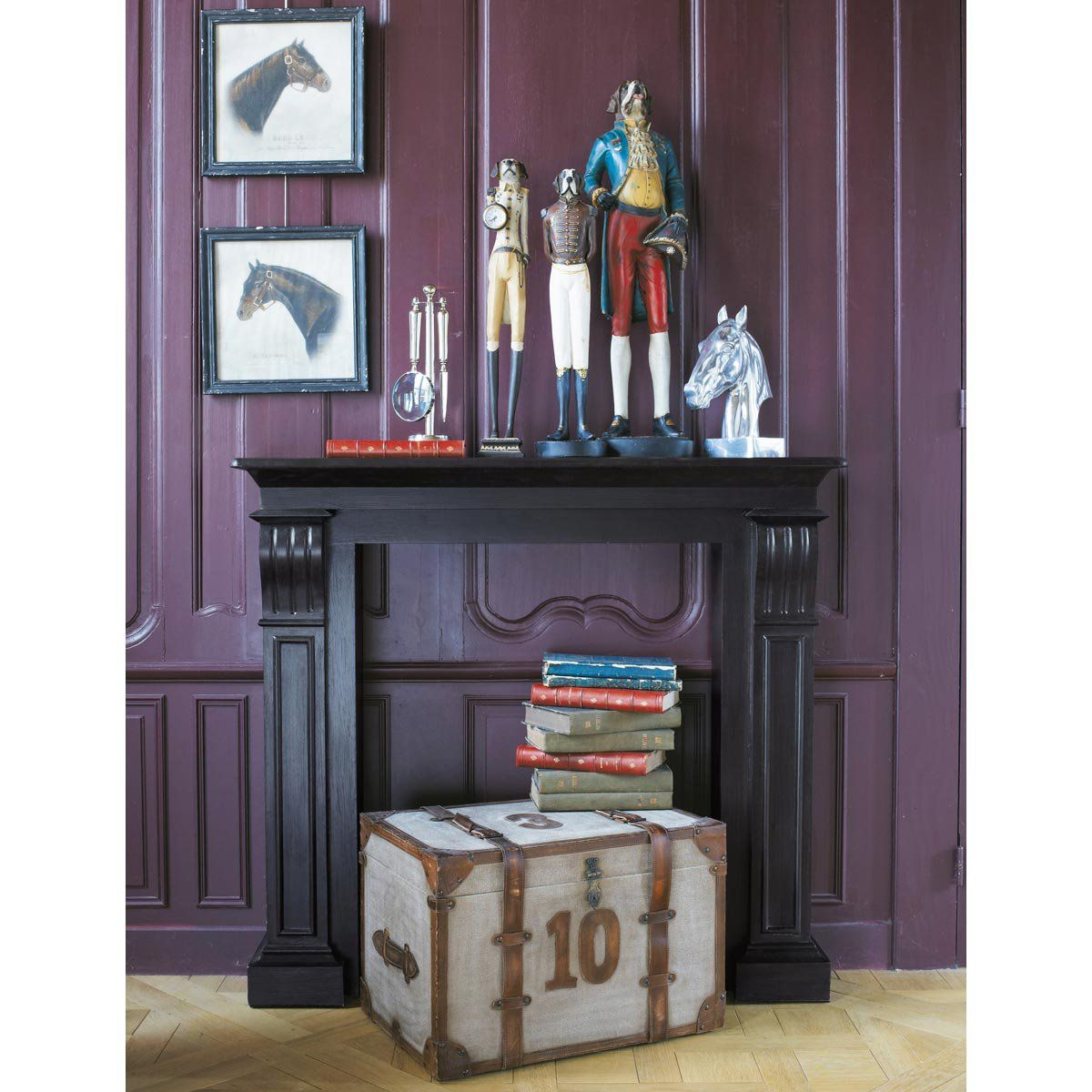 malle darlington maisons du monde tradition pinterest malle maison du monde et cadres. Black Bedroom Furniture Sets. Home Design Ideas