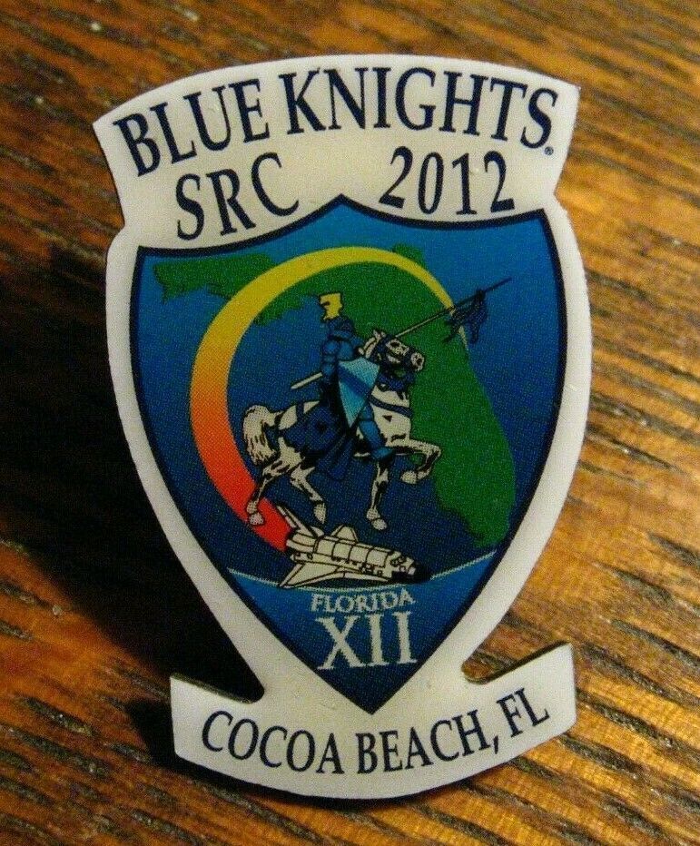 Blue Knights Src 2012 Lapel Pin Law Enforcement Motorcycle Club Cocoa Beach Fl Lapel Pins Motorcycle Clubs Cocoa Beach