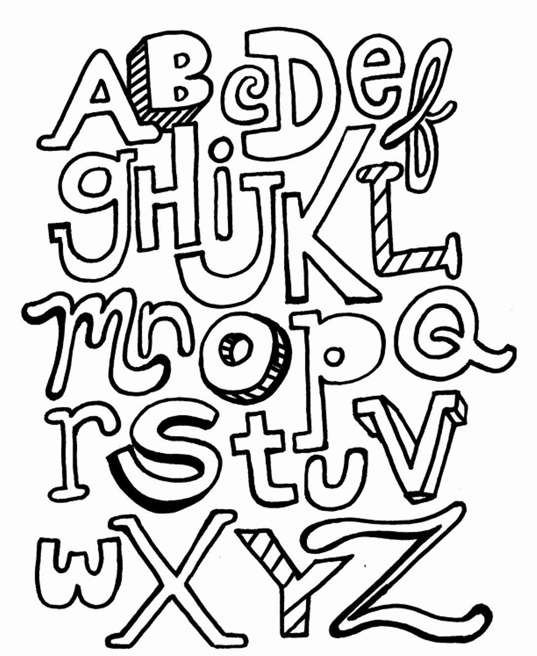 Printable Alphabet Coloring Sheets New Abc Letter Coloring Pages Free Printable Alphabet Coloring In 2020 Abc Coloring Pages Abc Coloring Printable Coloring Book