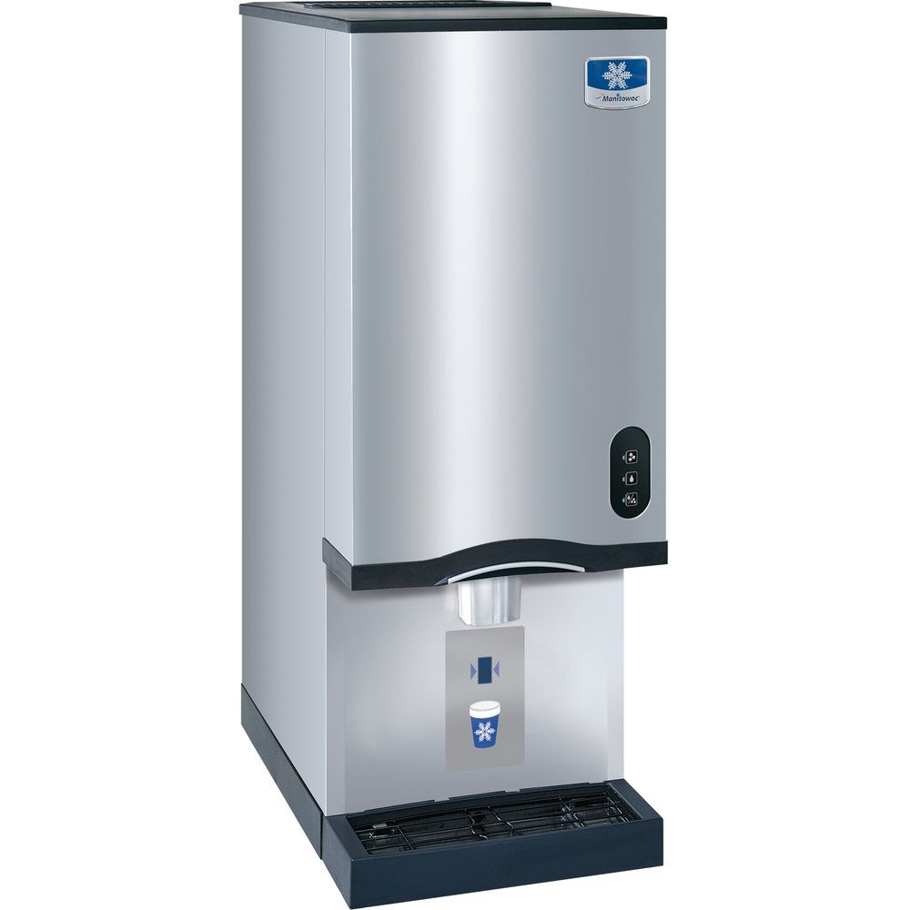 Manitowoc Rns 20at Air Cooled Countertop Ice Maker And Water Dispenser 20 Lb Bin With Sensor Dispensing Manitowoc Water Dispenser Nugget Ice Maker