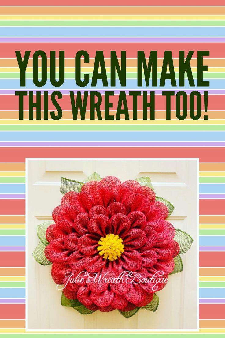 Photo of How to Make a Felt Flower   Spring 2020 Decor   How to Make a Flower Wreath