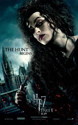 Helena Bonham Carter as Bellatrix Lestrange in Harry Potter
