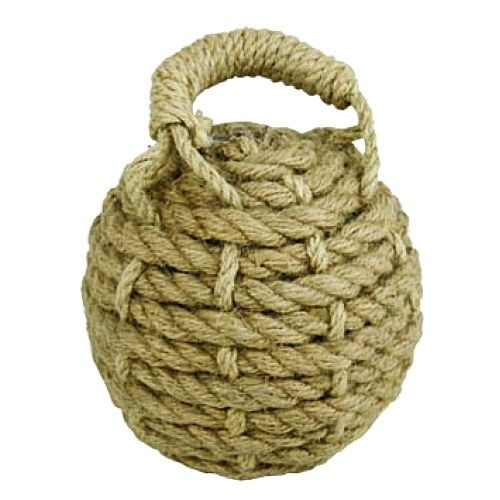 Deluxe Nautical Sailors Knot Rope Doorstop | Sailor knot ...