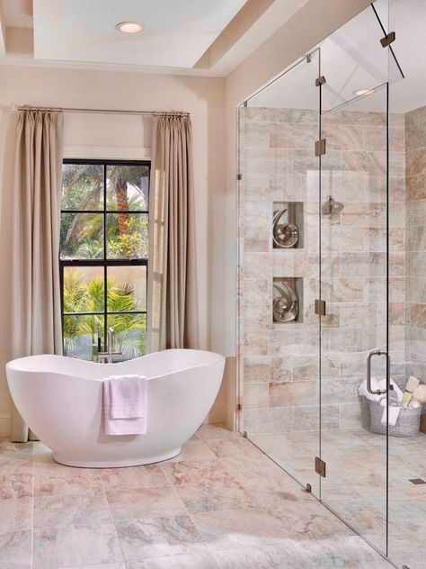 28 Arousing Master Bathroom Designs🚿 in 2018 bathrooms