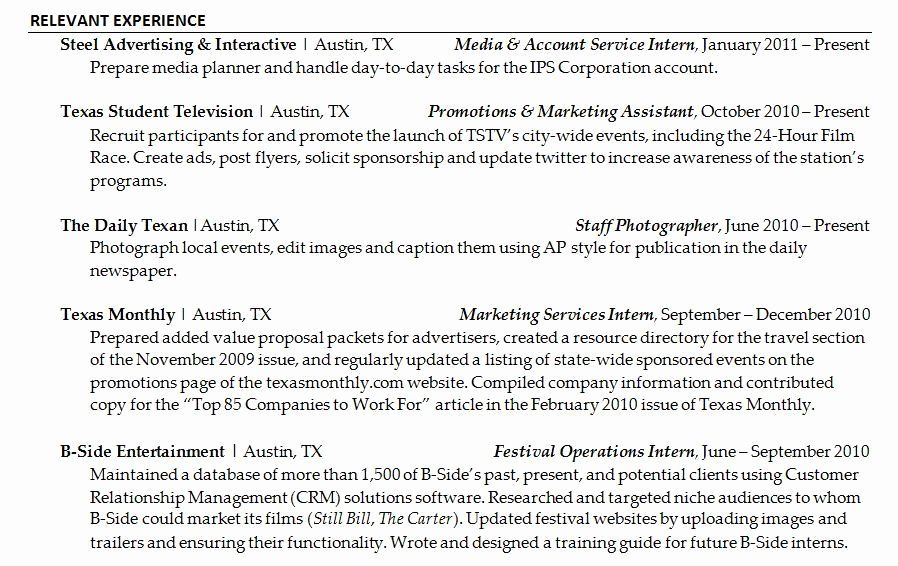 Resume In Paragraph form Lovely Example Resume Resume