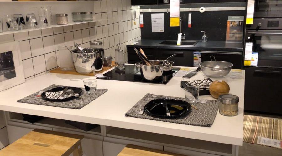 Las Tendencias Que Trae Ikea Para Este 2018 Cocina Estufa Horno Lavaplatos Platos Y Cubiertos Encu Platos Y Cubiertos Disenos De Unas Proyectos De Diseño
