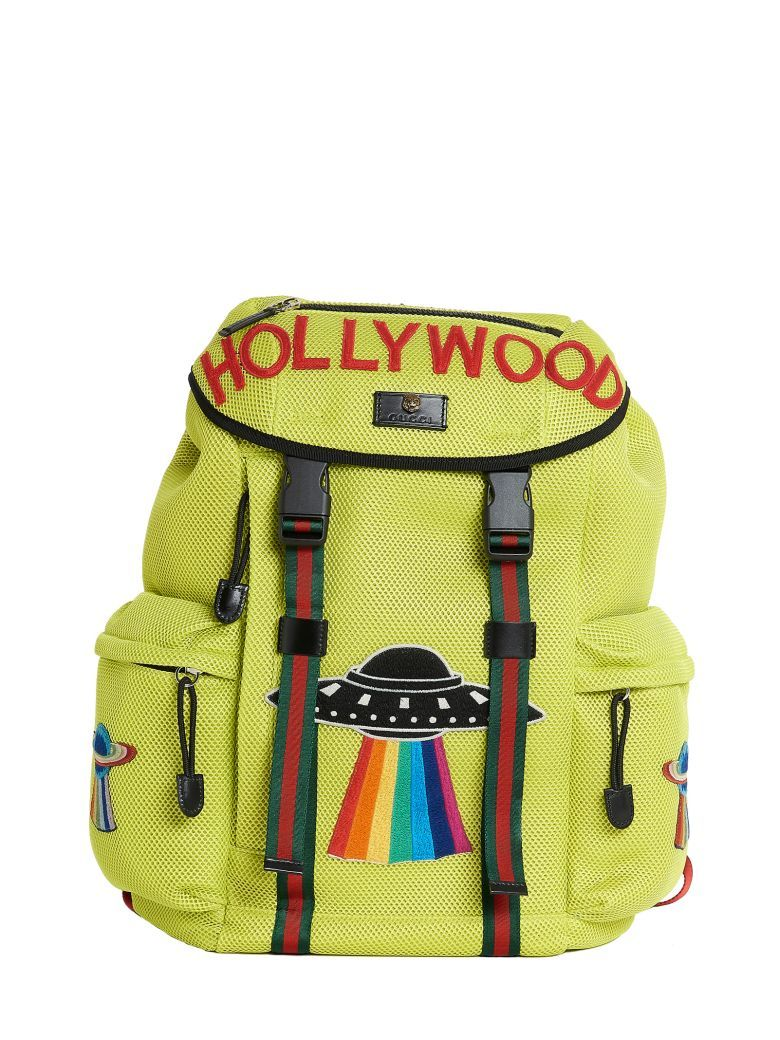 ddcbd1fb355a Best price on the market at italist.com Gucci Giallo BACKPACKS ...