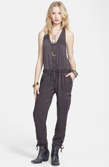 Free People Utilitarian Drawstring Jumpsuit Available At Nordstrom Dream Closet Pinterest