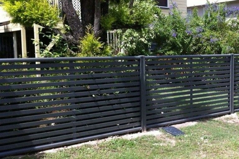 45 Admirable Front Yard Fence Remodel Ideas Front Yard Fence Fence Design Modern Fence