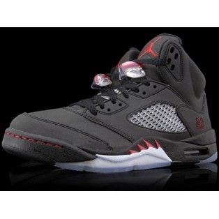 706edd79515 ... Nike Air Jordan 5 V Raging Bull Defining Moments Package II Black  Varsity . ...