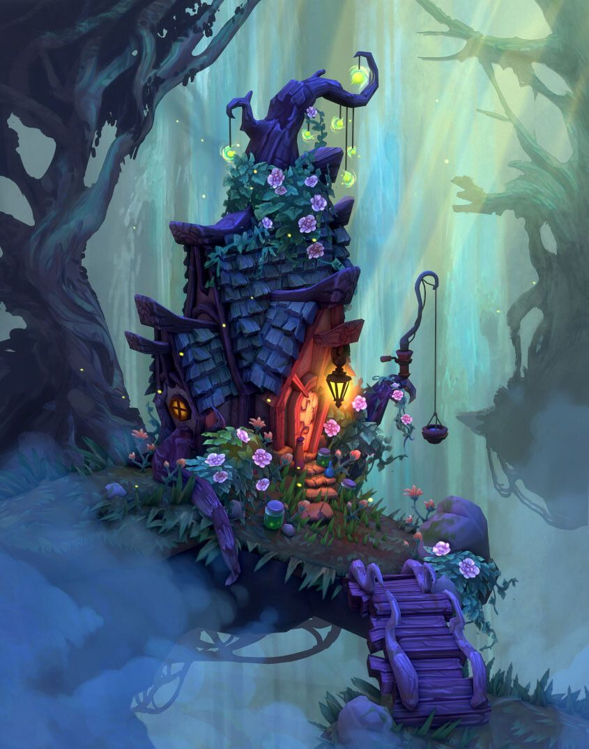 Creating a WoW-Inspired Magic Scene