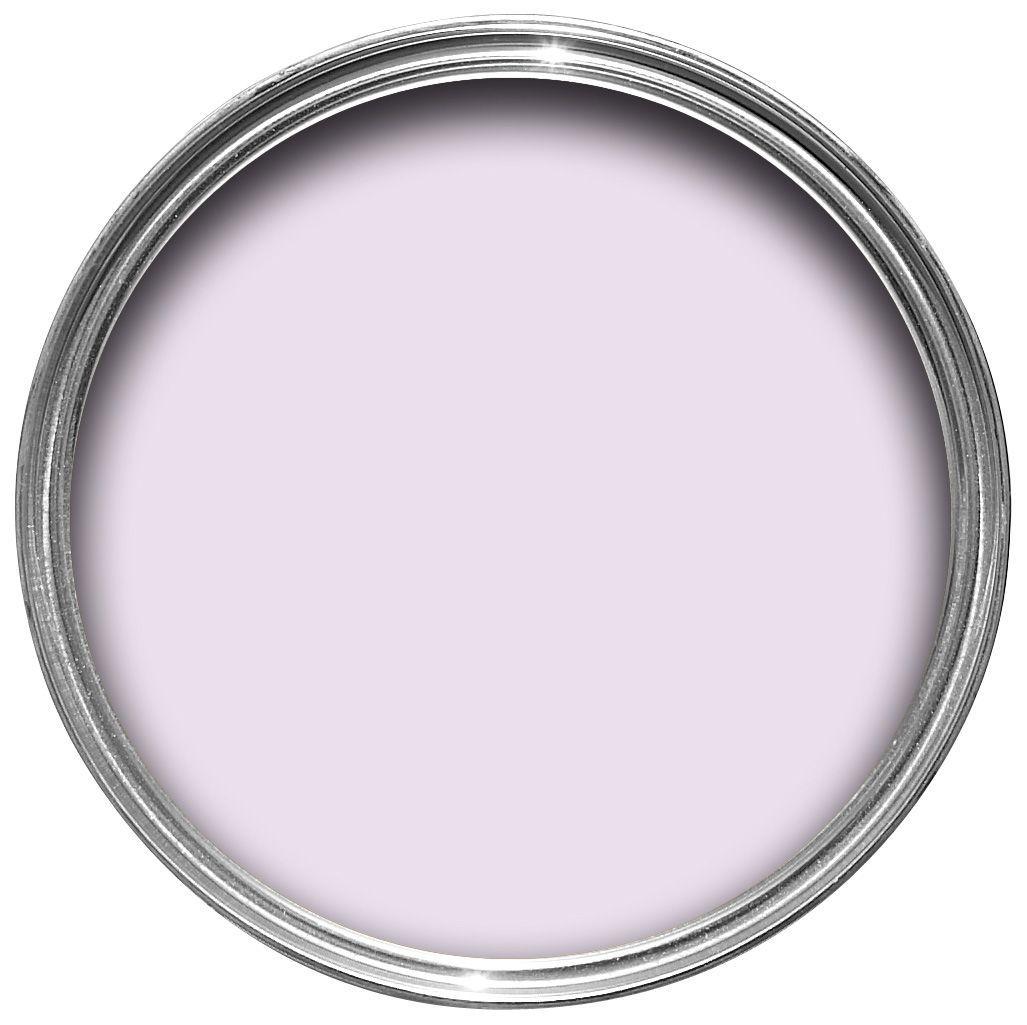Dulux Violet White Silk Emulsion Paint 5l Departments Diy At B Q