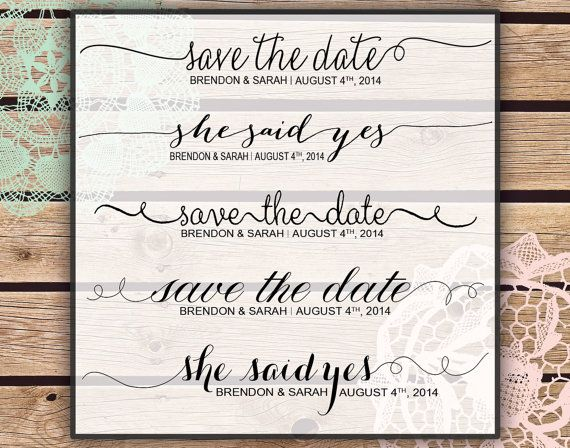 photoshop overlays save the date wedding instant
