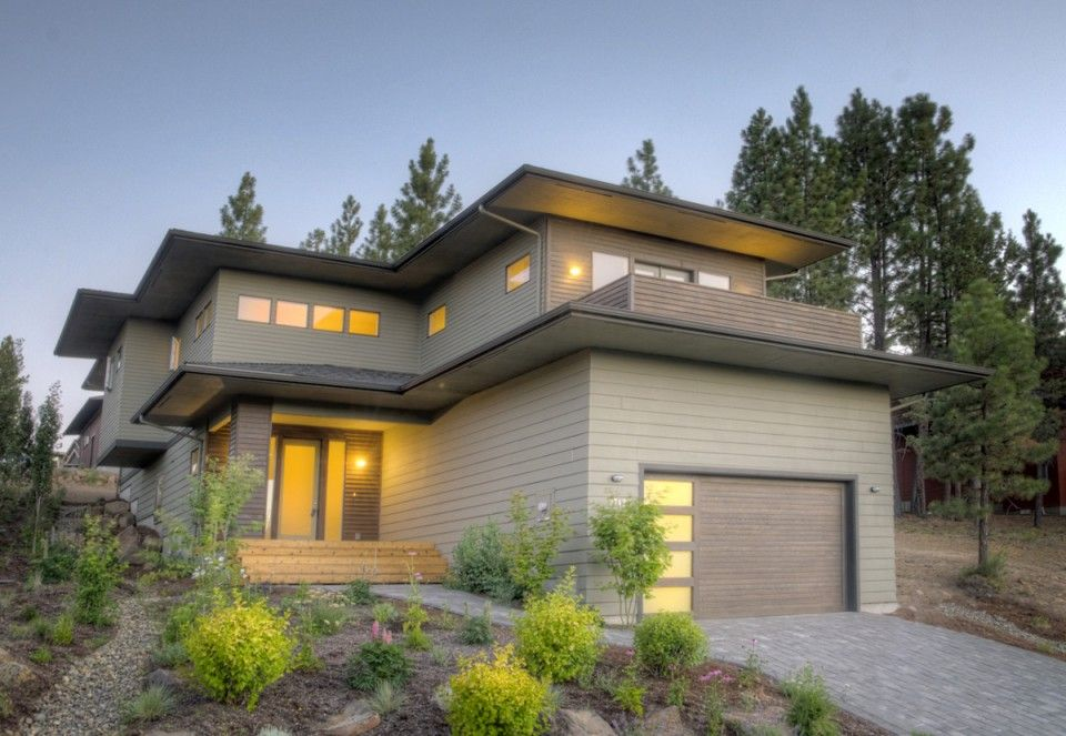 Prairie Style Home Plan Bend Oregon Exteriors Pinterest
