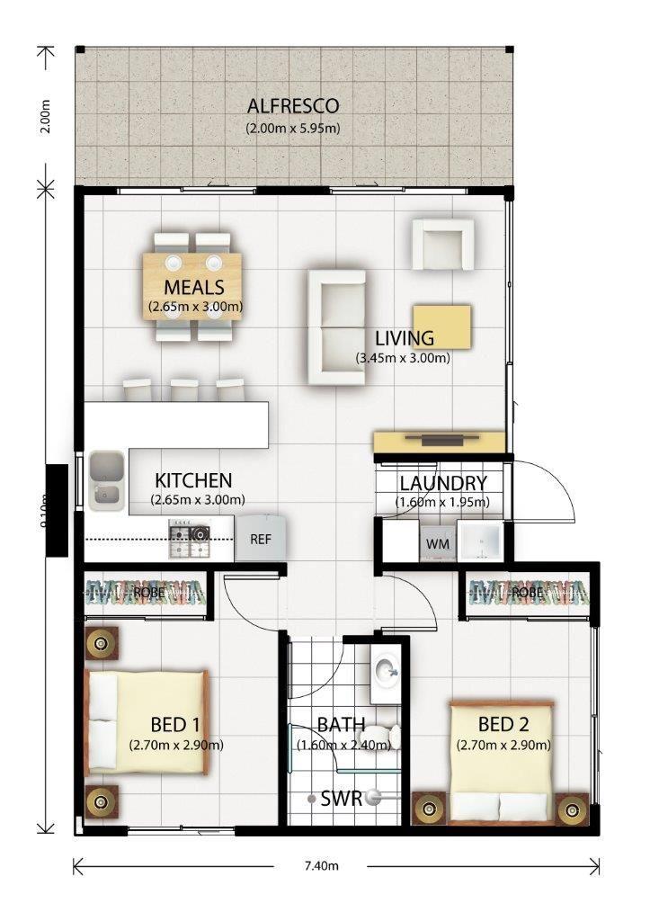 Home Narrow House Plans Floor Plan Design Bedroom Floor Plans