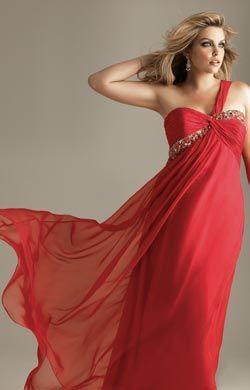 Vestidos de seda para noche