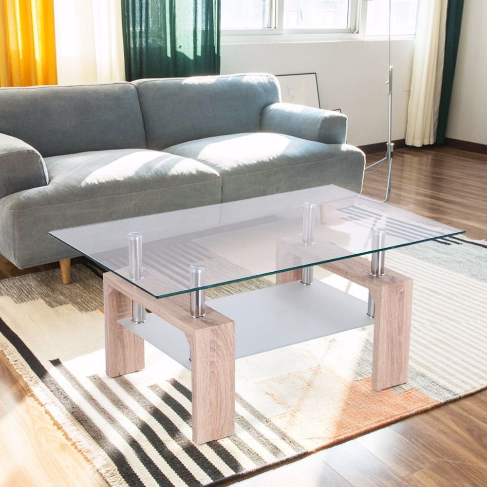 Lux Home Decoration Glass Table For Living Room   Home Decoration ...