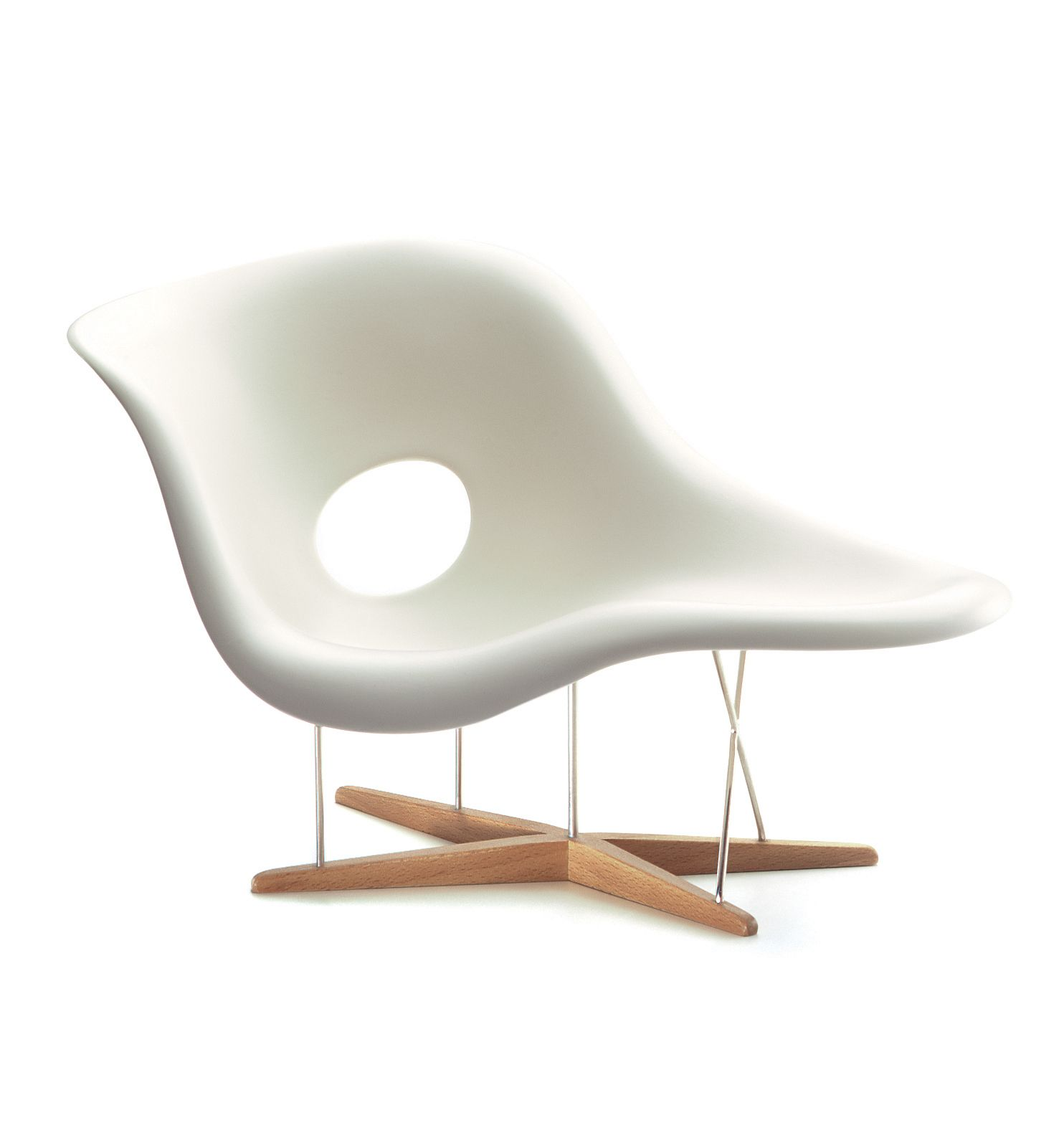Found it at AllModern Miniatures La Chaise by Charles and Ray Eames