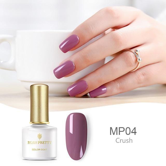 BORN PRETTY 6ml Pure Color Nude Color Semi Permanent UV