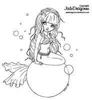 Bubbles by JadeDragonne