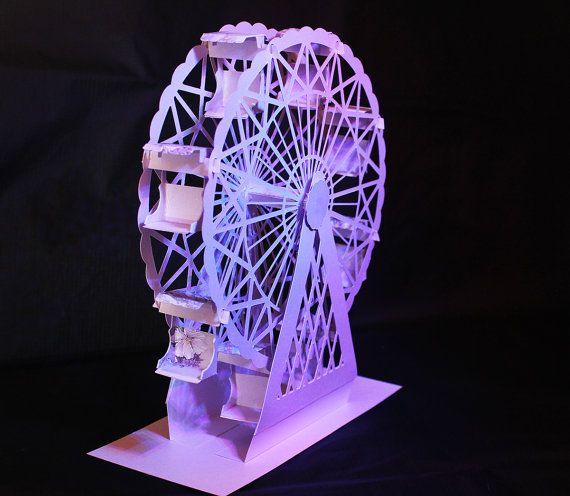 3d Svg Riesenrad Digital Downloads Ferris Wheel Svg Digital Download Etsy