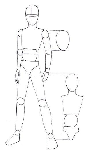 koerper4.jpg (303×530) | Art poses, Drawing tutorial ...