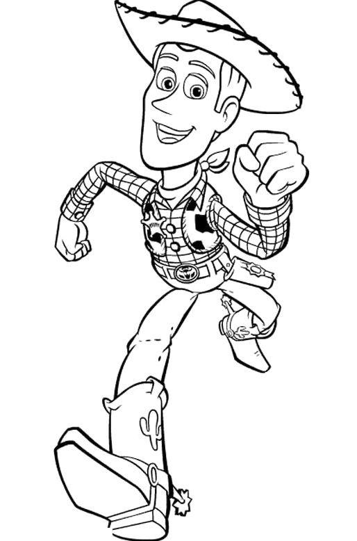 Running Woody Toy Story Coloring Pages Toy Story Cartoon Coloring Pages Toy Story Para Colorear Dibujos Para Pintar Faciles Libros Para Pintar