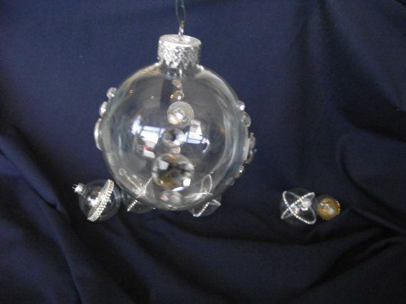 Crystal Bling Ball,Crystal decorated glass ball, Christmas Balls ...