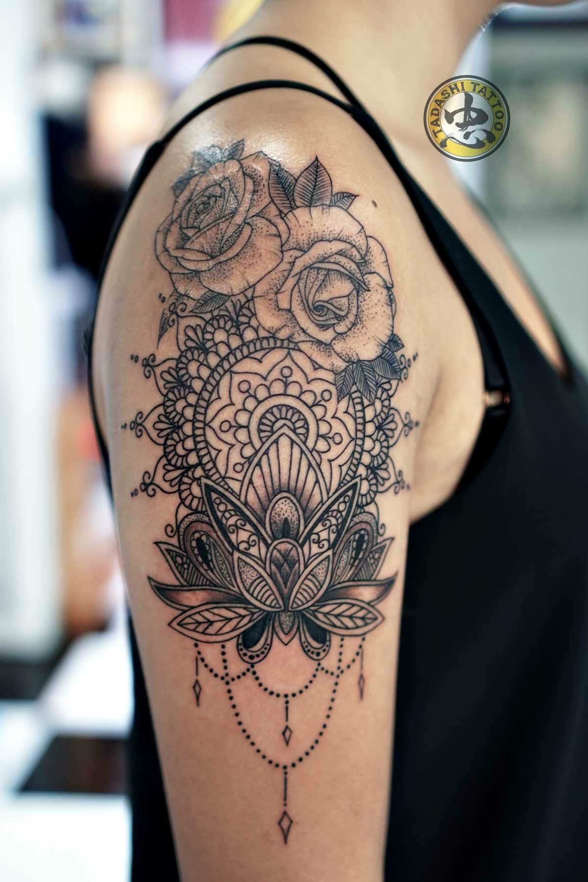 mandala tattoo by tadashi tatoo pinterest tattoo. Black Bedroom Furniture Sets. Home Design Ideas