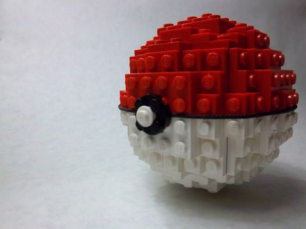 Lego Pokball Bens Board Pinterest Legos Lego Instructions