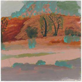 via Lisa Diederich        via Lisa Diederich blog   Idris Murphy's abstracted Australianlandscapes via King Street Gallery  in Australia