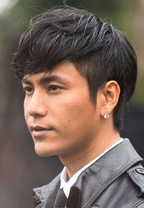 Short Sides And Long Top Hairstyle For Asian Men Asian Men