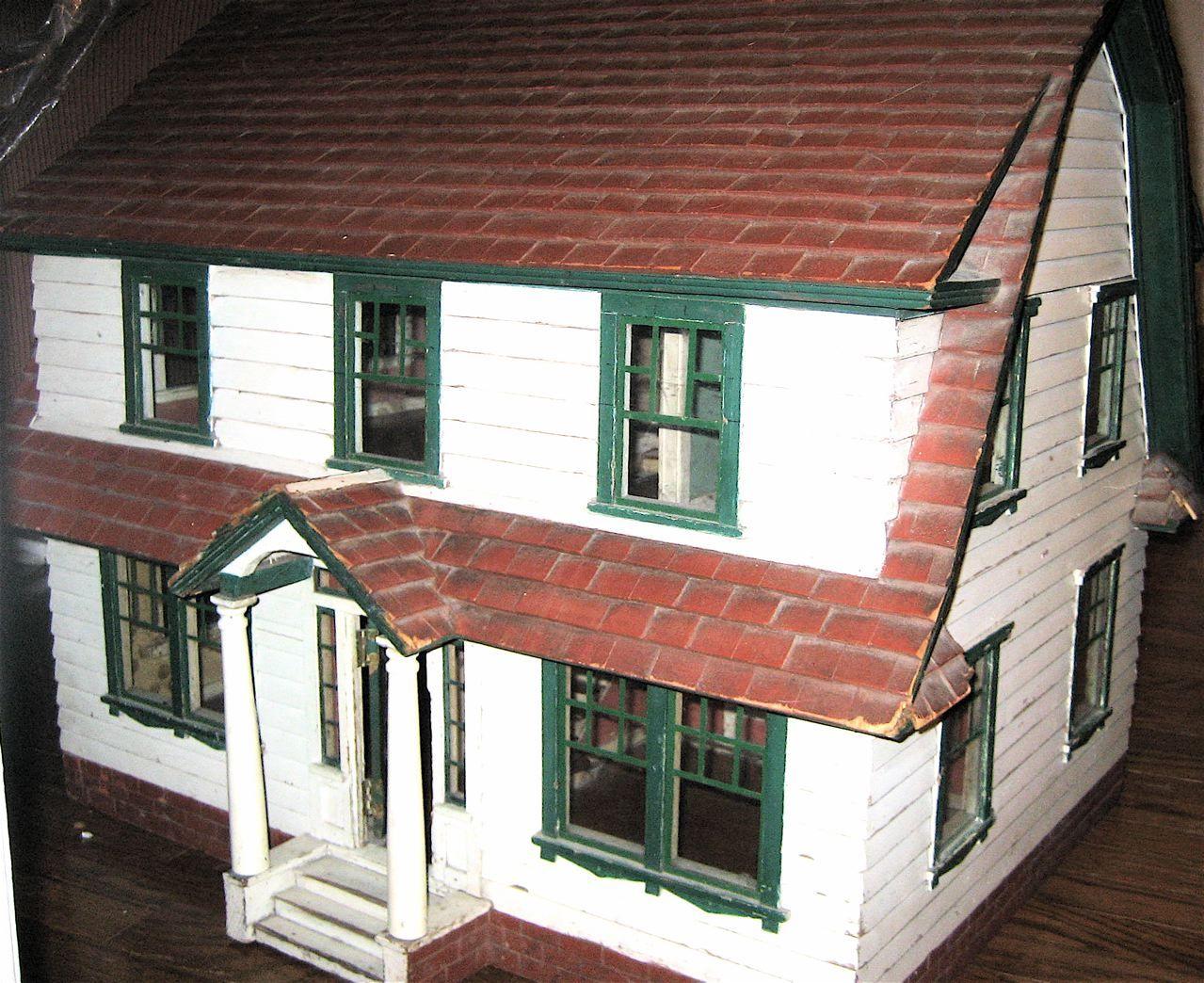 The Fao Schwarz Peasant Dollhouse Doll Houses Antique Dolls