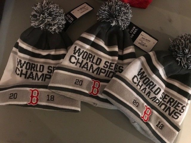 MLB Boston Red Sox World Series Winter Hat Fan Baseball Sport Apparel Shop  New de47dff3635