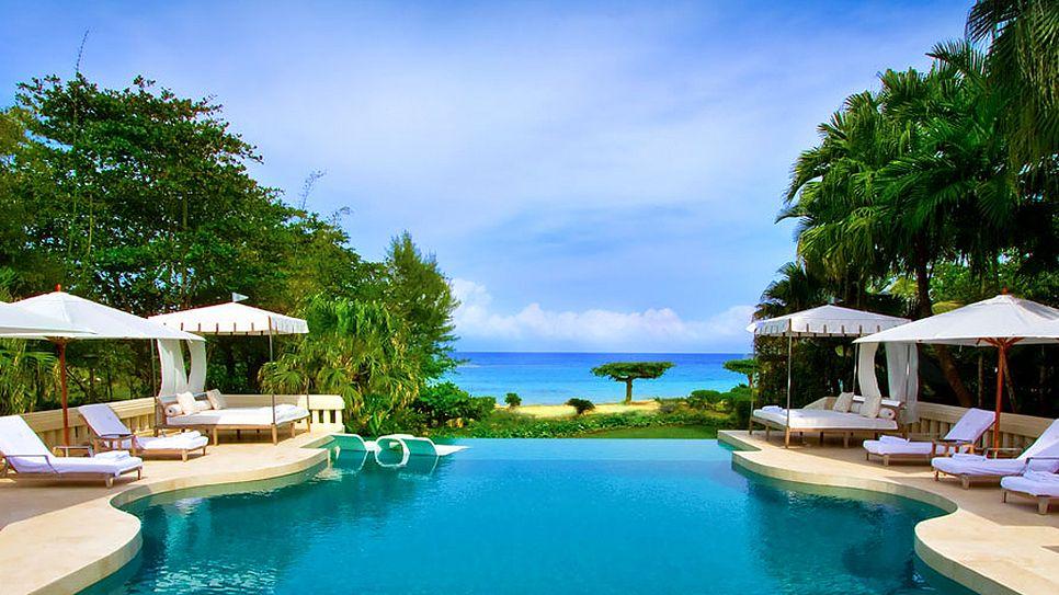 ROARING PAVILION OCHO RIOS, JAMAICA Pool, meet Caribbean