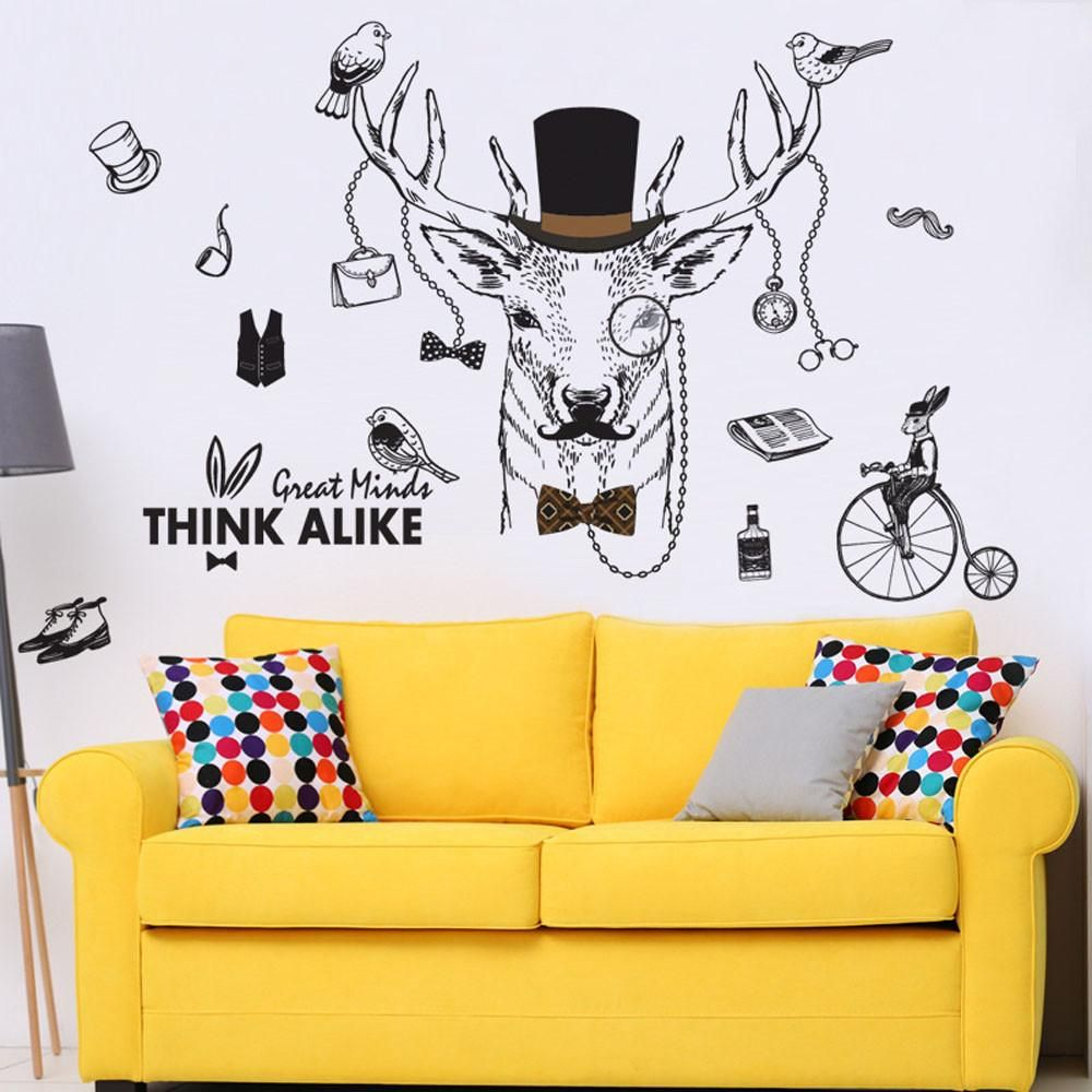 Creative wall art made for creative people.   Wall Vinyl Stickers ...