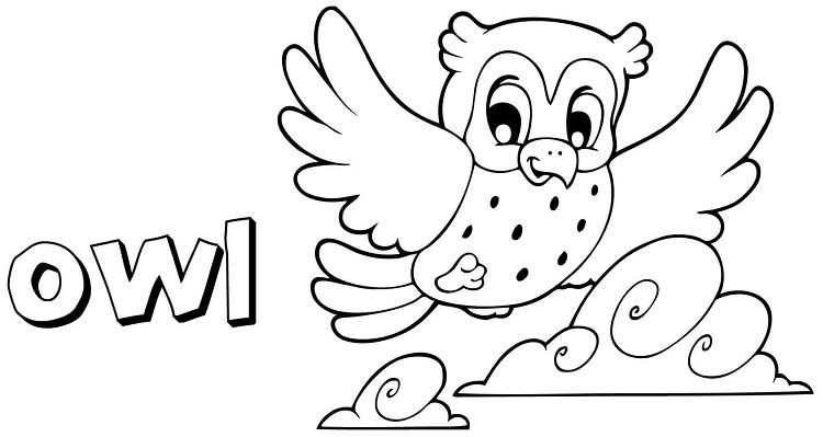 owl coloring pages for kindergarten | Coloring Ideas | Bandejas ...