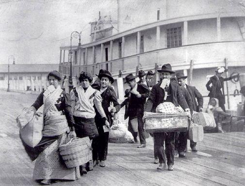Famille Italienne Ellis Island