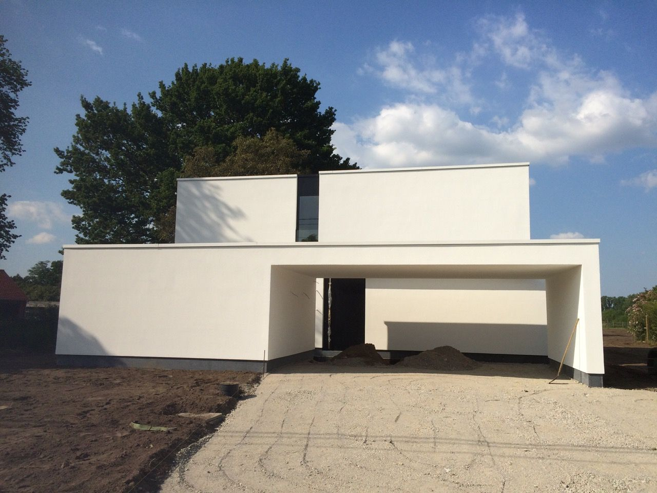 Niko wauters moderne minimalistische woning met laag energieverbruik modern minimalistic low - Zie in het moderne huis ...