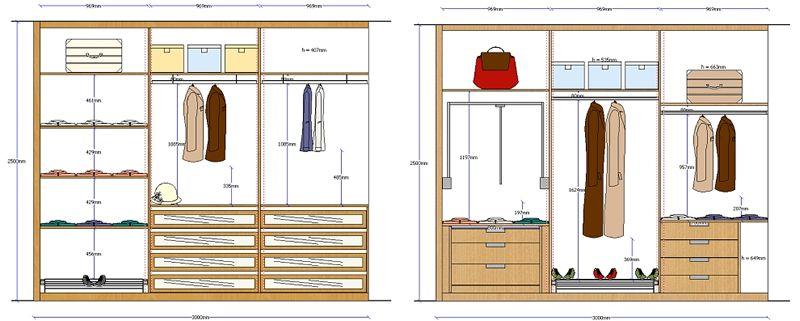 dise o de closet de madera imagui decoraci n del hogar