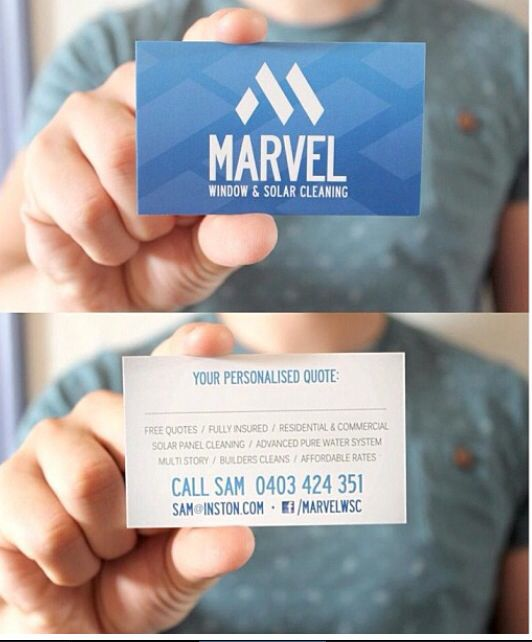 Window Cleaning Biz Card Free Quotes Window Cleaner Washing Windows