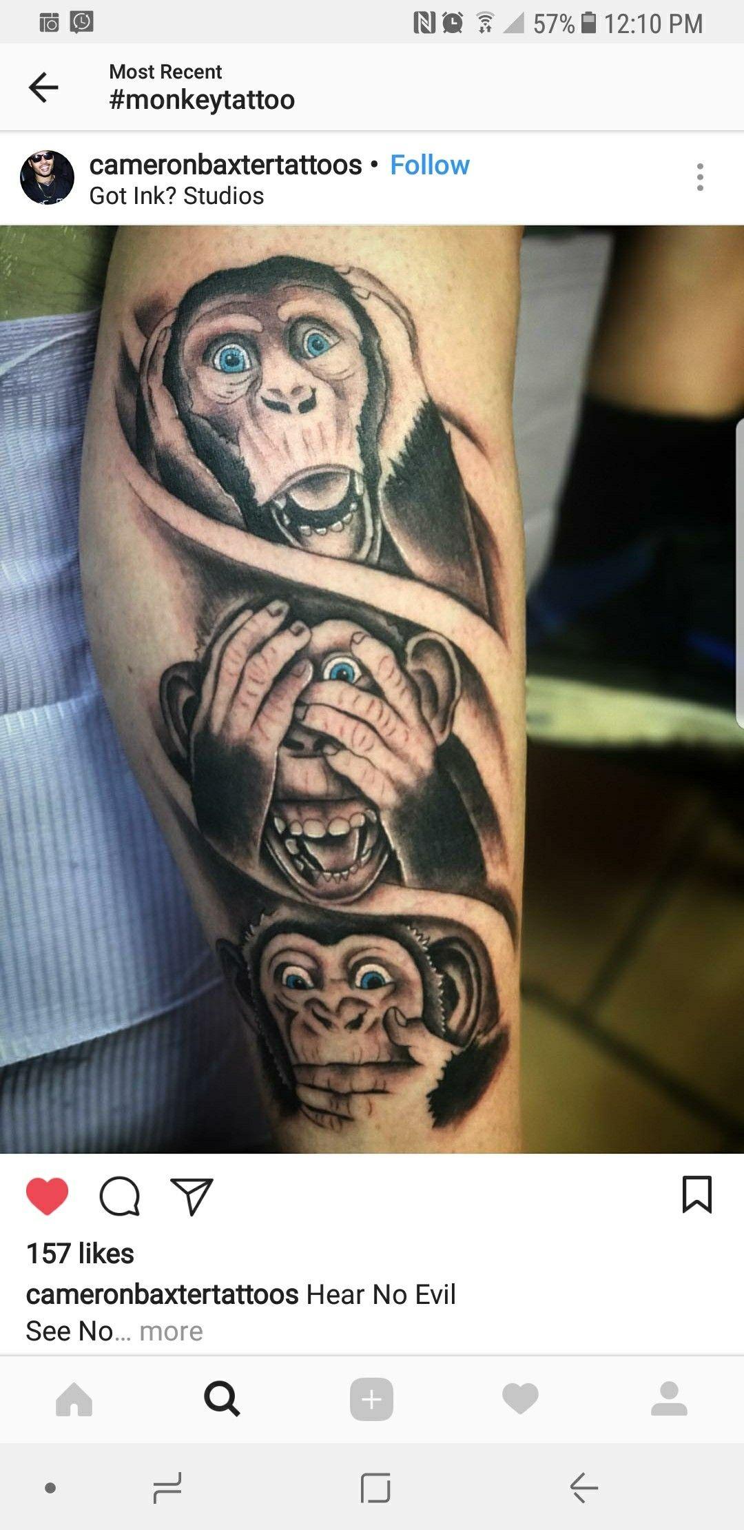 38++ Les 3 singes de la sagesse tatouage ideas in 2021