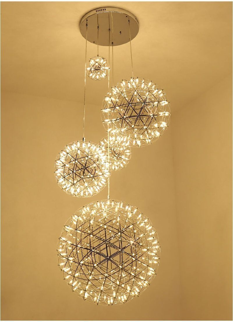 Orbital LED Hanging Lamp in 2020 | Hanging lamp, Living