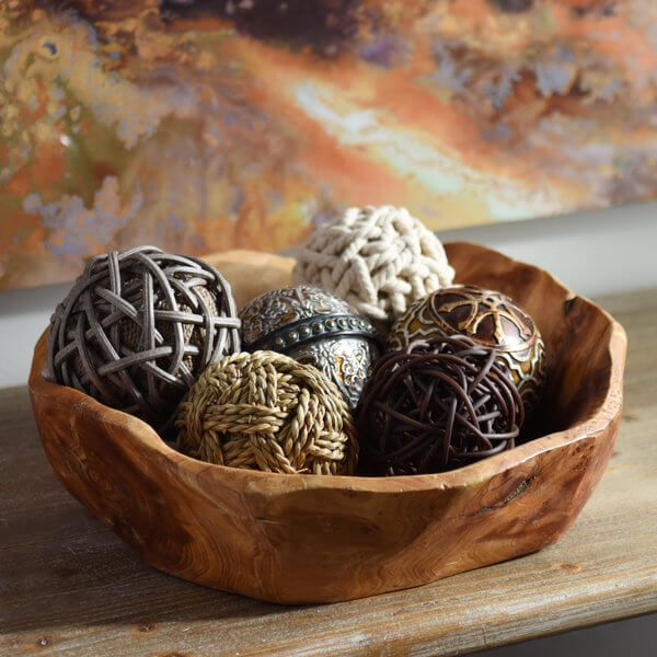 Decorative Bowl With Balls Easy Diy Orb & Bowl Table Decoration  Bowls Table Decorations
