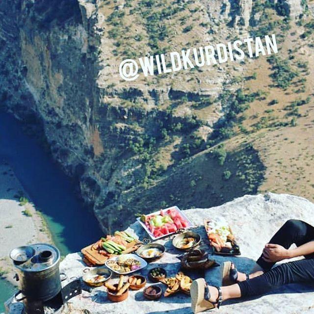 Good morning  Romantic breakfast on the summit of the Kurdistan Mountains!  For more...  Good morning  Romantic breakfast on the summit of the Kurdistan Mountains!  For more Info -) www.wildkurdistan.com . .#loveisintheair   .  . . .  .  . . .  #wildkurdistan #wild #amor #sunshine #wildlife #nature #natur #kurdistan #kurden #kurdish #rojbas #breakfast #sunrise #mountains #mount #urlaub #adventure #travel #abenteuer #dziendobry #reisen #love #honeymoon #sunset #goodmorning #kurdishgirl #polishgir