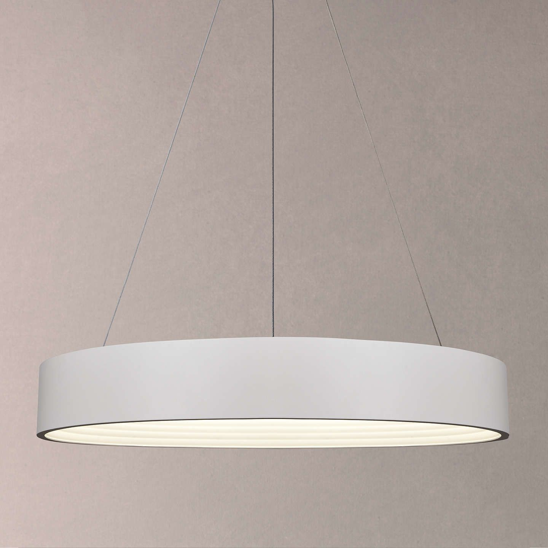 Buyjohn lewis leif led ribbed hoop ceiling light white online at johnlewis com