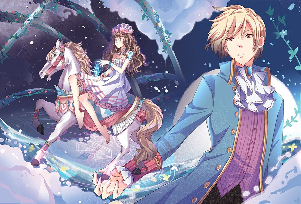 A new dream magazine edition anime inspired manga