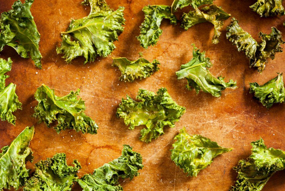 Check this: #KaleChips as prepared in #Germany!! #kale - Olive Oils from Spain