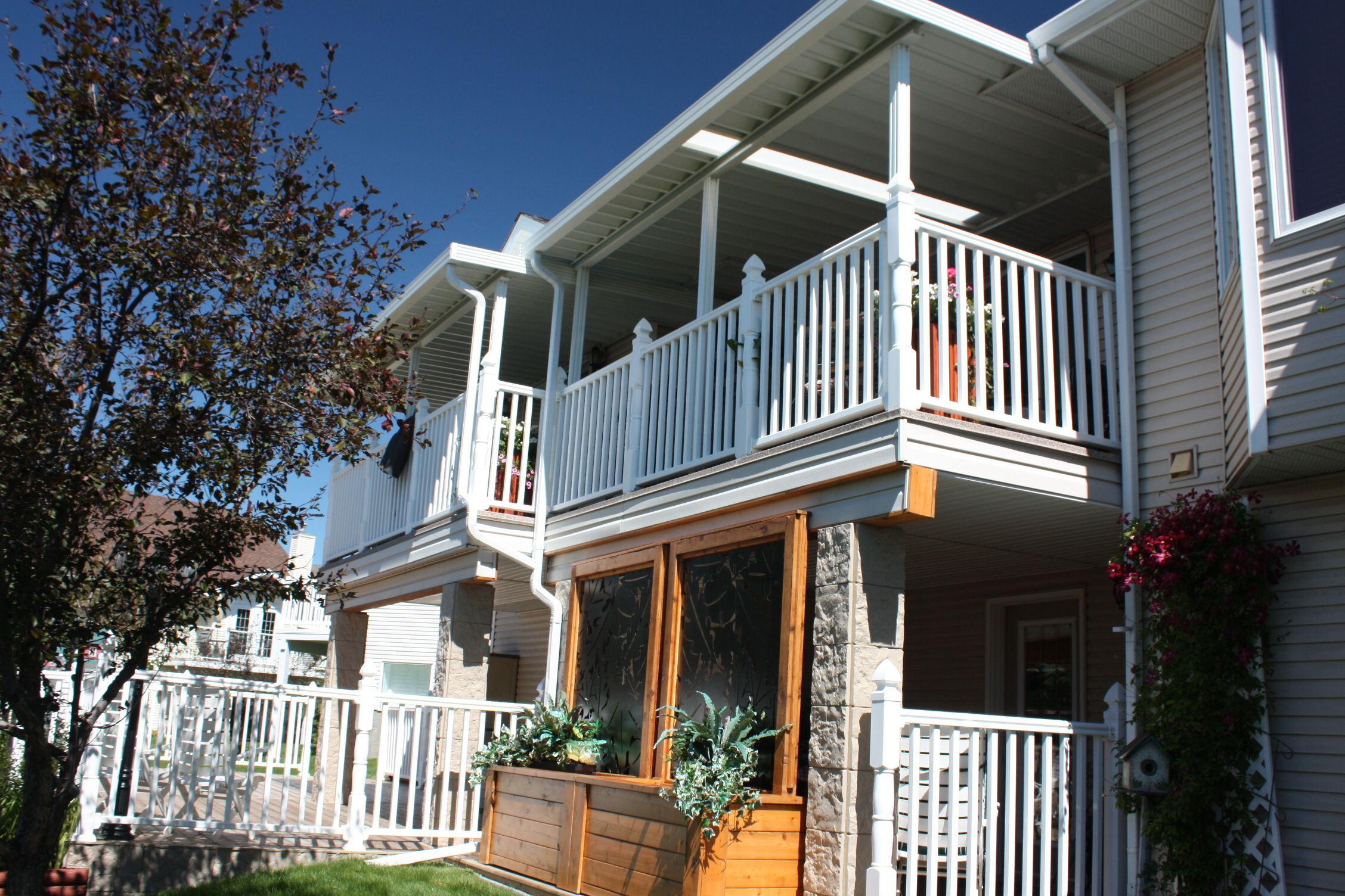 Calgary Patio Covers | Covered patio, Patio, House styles